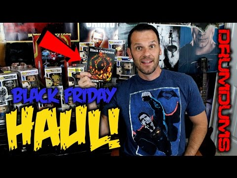 Drumdums' Shout Factory BLACK CHRISTMAS Blu-ray/Black Friday 2016 Haul!