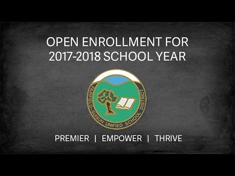 FSUSD Open Enrollment Information for the 2017-2018 School Year
