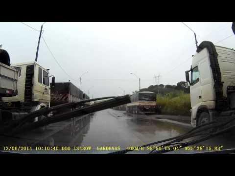 Viagem de Boca da Mata-AL para Igarassu-PE Parte - 07 BR 101 Trecho Antes de Xexéu