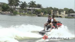 5. 2012 / 2011 Sea-Doo Wake 155 Personal Water Craft Review