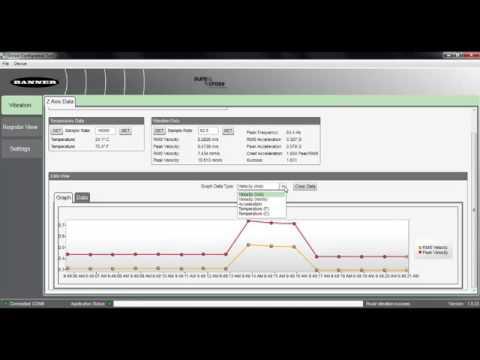 Sensor Configuration Tool VT1 Basic Demo