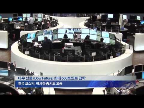 [대선특보]이변속 금융시장 '출렁' 11.8.16 KBS America News