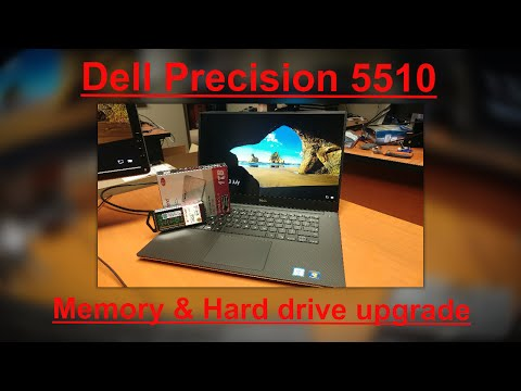 , title : 'Dell Precision 5510 Memory & hard drive Upgrade...'
