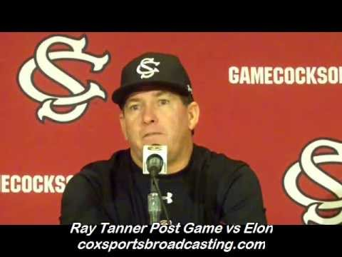 0 Ray Tanner Post Game vs Elon