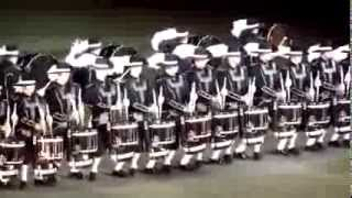 Best Drumline Video Ever - Perfect Synchronization!