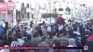 رصد | مسيرة رافضه للانقلاب بدمياط الجديده أمس