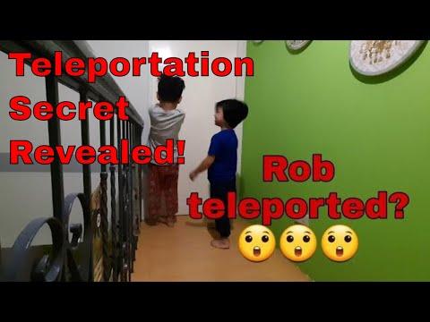 How to teleport!? Teleportation secret revealed. Very easy video trick.