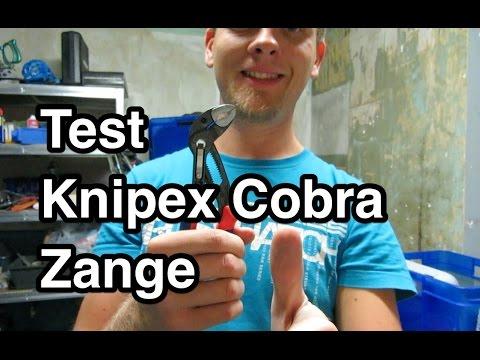 Test Knipex Cobra Wasserpumpenzange 87 02 250 | Wasserpumpenzange Test | Knipex Test