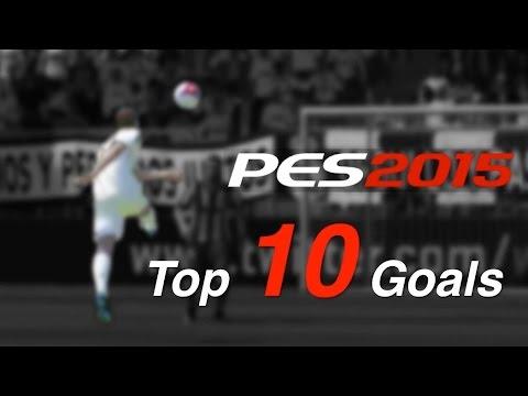pes 2015 - top 10 goals