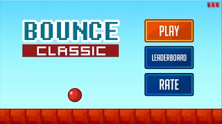 BOUNCE CLASSIC GAMEPLAY #PART 1