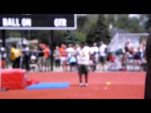 High Jump State champion 2013 Lincoln Park High School Jumper Robert Atwater
