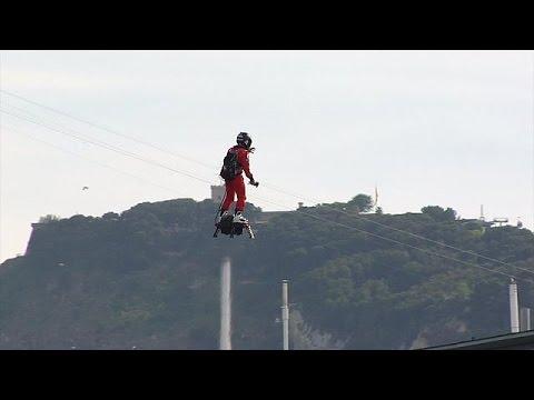 Βαρκελώνη: Νέα ιπτάμενη μηχανή κλέβει τις εντυπώσεις – science