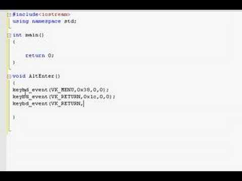 c++ Programming Tutorial 4 (Part 1 of 2)