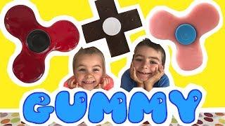 Video DIY - CRASH TEST - HAND SPINNER en chocolat, gummy, pâte à sucre !!! - KID STUDIO TEST MP3, 3GP, MP4, WEBM, AVI, FLV Juli 2017