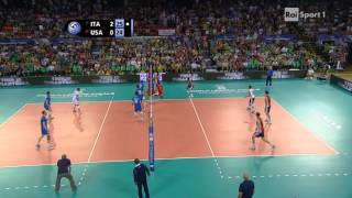 Video [Volleyball] Ivan Zaytsev of Italy kills USA with 4 aces in a row #quattrolavatrici MP3, 3GP, MP4, WEBM, AVI, FLV September 2018