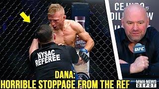 Video UFC Pros react to TJ Dillashaw vs Henry Cejudo; TJ demands rematch at 125; Dana on Greg Hardy; Conor MP3, 3GP, MP4, WEBM, AVI, FLV Februari 2019
