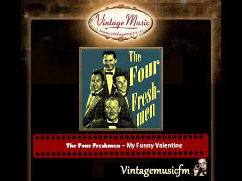 Tekst piosenki The Four Freshmen - My Funny Valentine po polsku