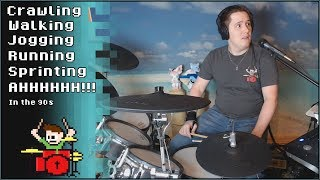 Video Running in the 90s But It Keeps Getting Faster On Drums! -- The8BitDrummer MP3, 3GP, MP4, WEBM, AVI, FLV Oktober 2018