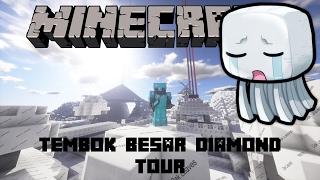 "Video ""TEMBOK BESAR DIAMOND TOUR"" Noob Survival Minecraft Indonesia Extra #11 MP3, 3GP, MP4, WEBM, AVI, FLV Maret 2018"