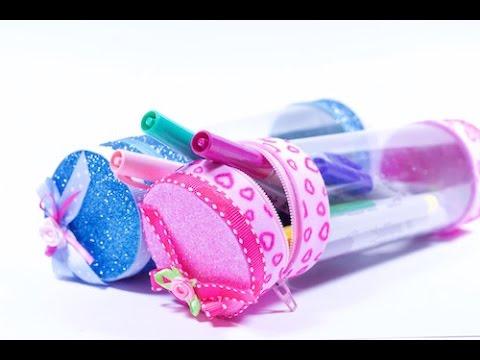 foamy - portapenne realizzato con materiali di riciclo