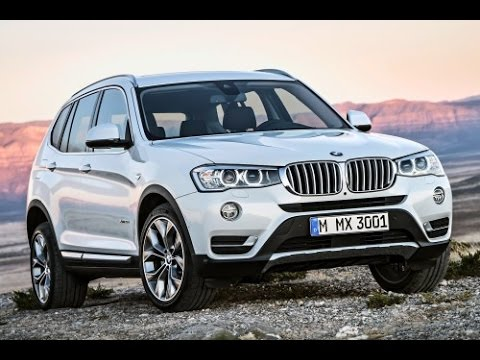 2015 BMW X3 Start Up and Review 2.0 L Inline 4-Cylinder Turbo