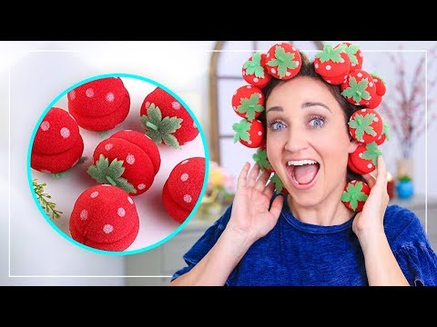 Curly hairstyles - NO-HEAT CURLS with Strawberries?!?  Fab or Fail  Cute Girls Hairstyles