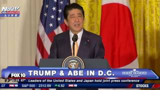 Like And Subscribe! ImJustJoshinYa! Tune in Next Time! President Trump was joined by Japanese Prime Minister Shinzo Abe in the White House to talk about the relationship between the two countries and how to make both Japan & USA Great Again!
