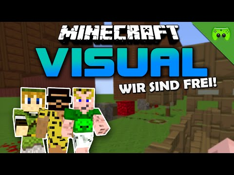 MINECRAFT Adventure Map # 51 - Visual Project 2 «» Let's Play Minecraft Together | HD