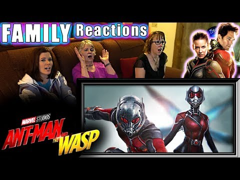 ANTMAN And The WASP | FAMILY Reactions | Fair Use