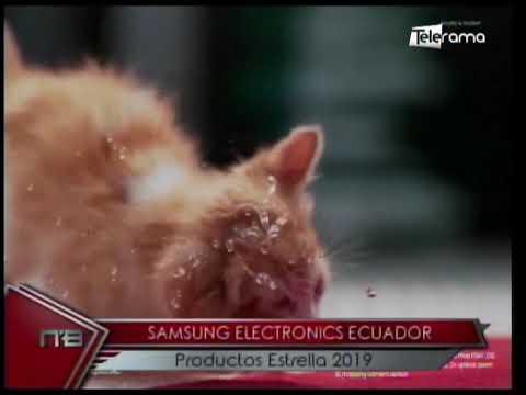 Samsung Electronics Ecuador productos estrella 2019