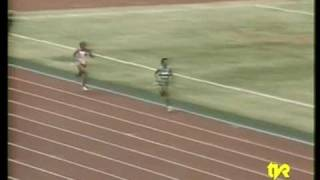 All Africa Games 1987 Nairobi 100m Women Semifinal- 4x400m Women Final