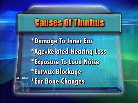 Causes of Tinnitus Medical Course