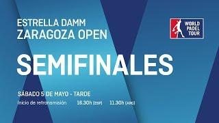 Semifinales - Tarde - Estrella Damm Zaragoza Open 2018 - World Padel Tour