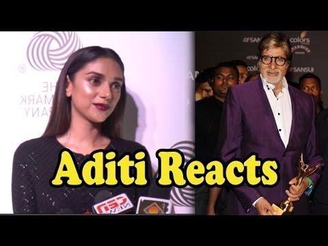 Aditi Rao Hydari REACTS On Amitabh Bachchan's Nati