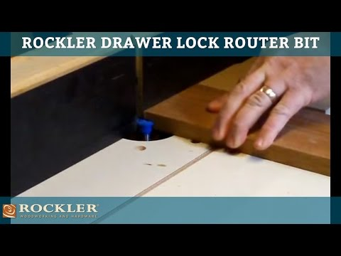 Drawer Lock Router Bit