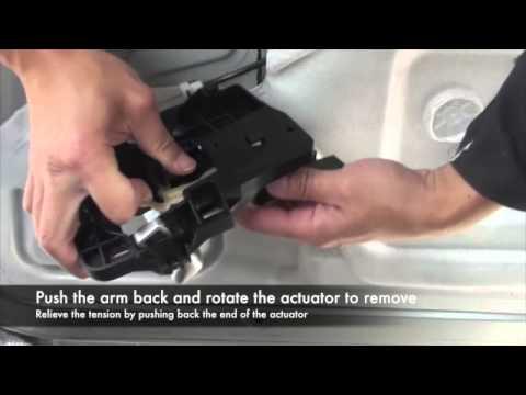 Fixing a peugeot 1007 sliding door fault