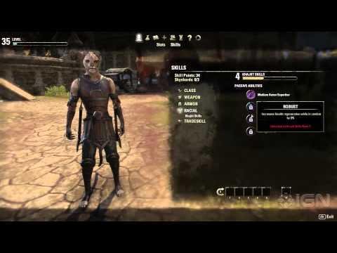 The Elder Scrolls Online – Character Progression Walkthrough