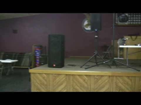 QSC K12's SOUND CHECK with JBL JRX125 Dual 15