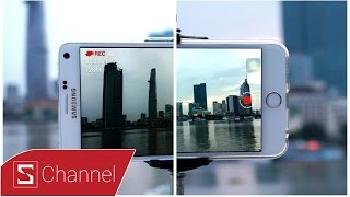 Schannel - So sánh Galaxy Note 4 vs iPhone 6 Plus: Đối đầu Camera