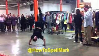 AMAZING !! STREET PERFORMER(MARCQIESE MARC) BATTLES NYPD COP TO STREET PERFORM - YouTube