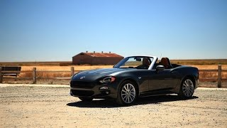 On the road: 2017 Fiat 124 Spider by Roadshow
