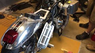 5. 314 horsepower Harley Davidson V rod