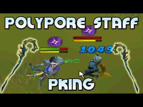 polypore - Runescape polypore staff pking 2013. Runescape magic pking with the polypore is pretty OP! I loved pking with this setup, and will be trying it again with st...