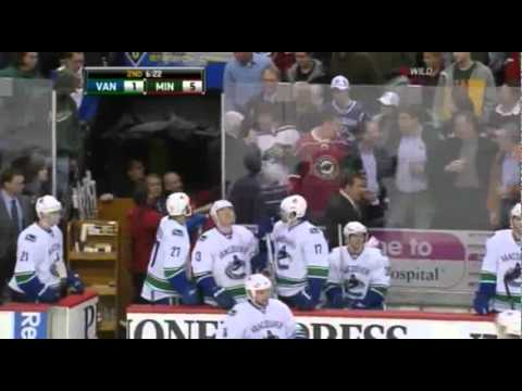 mokyboy11 - Rick Rypien attacked a Minnesota Wild fan after he fought with a Canucks player. He was suspended for 6 games and the Canucks organisation was fined for 25 0...