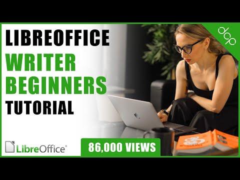 Libre Office Writer Beginners Tutorial - Word Processing Tutorial