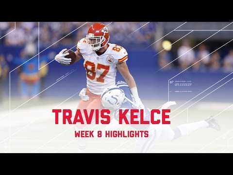 Video: Travis Kelce Highlights (Week 8) | Chiefs vs. Colts | Week 8