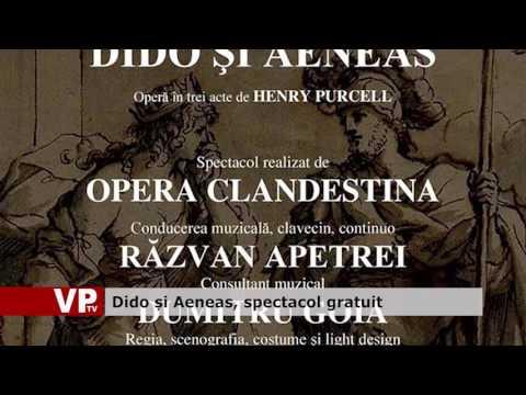 Dido și Aeneas, spectacol gratuit