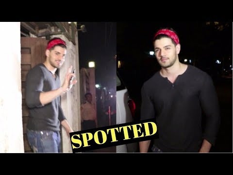 Sooraj Pancholi Spotted At Corner House