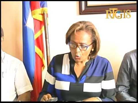 L'intervention du candidat à la présidence de ''Fanmi Lavalas'' Maryse Narcisse