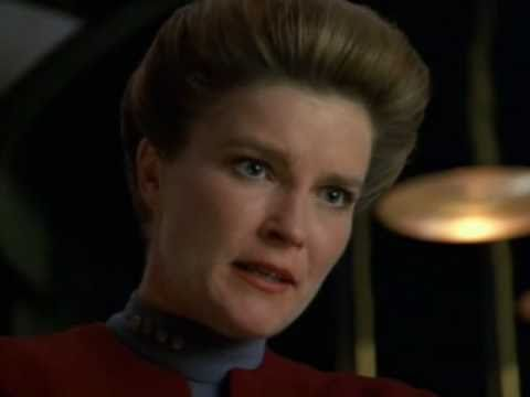 Star Trek Voyager. Janeway Lashes Out at The Vidiians